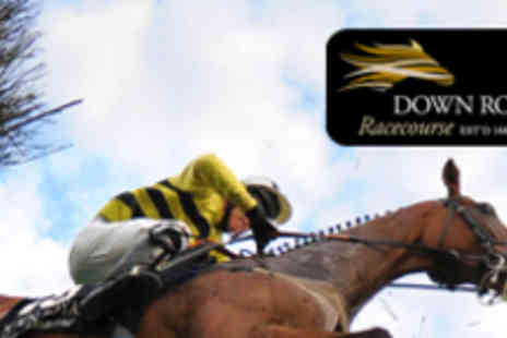 Down Royal Racecourse - Ticket to Raceday on November 4 with Race Card - Save 53%