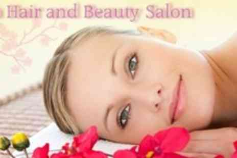 Diva Hair and Beauty Salon - Choice of Manicure or Massage Plus Luxury Facial - Save 60%