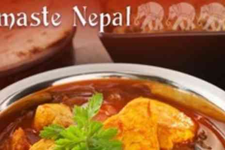 Namaste Nepal - Nepalese Fare For Two - Save 60%