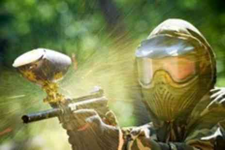 Ambush Paintball - Paintballing Experience With Equipment, 100 Paintballs, Lunch and Drinks - Save 71%