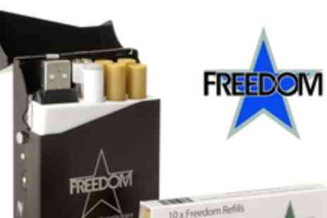 Freedom Cigarettes - £19.93 instead of £56.97 for 500 + Tar & Tobacco Free Freedom Cigarettes - Save 65%