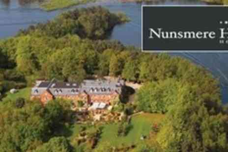 Nunsmere Hall Hotel - Four Star One Night Stay For Two With Breakfast - Save 62%