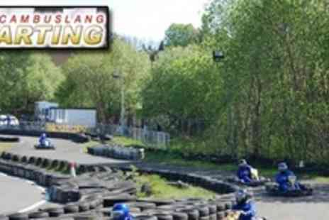 Cambuslang Karting - Two 20 Minute Go Karting Circuit Sessions - Save 53%