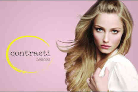 Contrasti Salon - £19 for a hair package worth £89, including a wash, cut and style, Kerastase Ritual Treatment and scalp massage - Save 79%