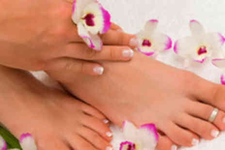 Beauty by Debbie - £19.50 for a Luxury Manicure and Pedicure with a Two Week Gelac Polish - Save 65%