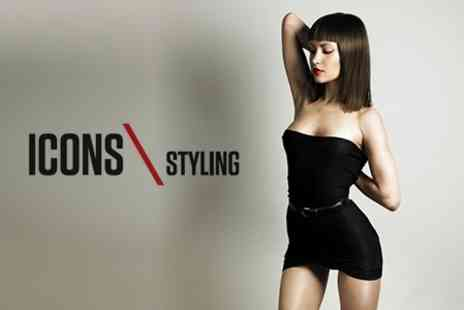 Icons - Cut and Blow Dry - Save 59%