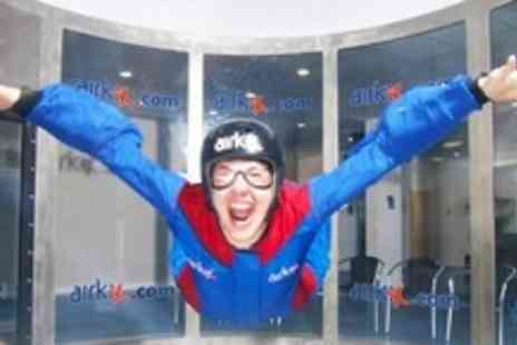 Airkix - Indoor Skydiving Experience With DVD and Digital Photograph - Save 66%