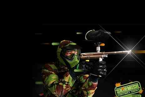 Ambush Paintball - Skirmish Paintball Day - Save 50%
