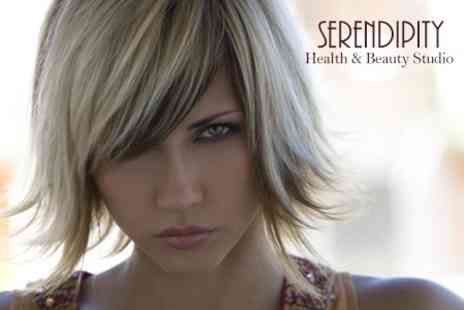 Serendipity Health and Beauty Studio - Cut and Finish - Save 65%