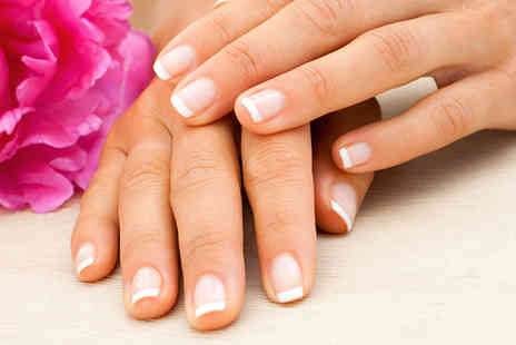 Beauty Lounge - Shellac French manicure and a luxury spa pedicure - Save 70%