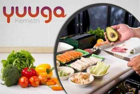Yuuga Kemistri - Raw Cooking Masterclass With Take Home Dessert - Save 26%