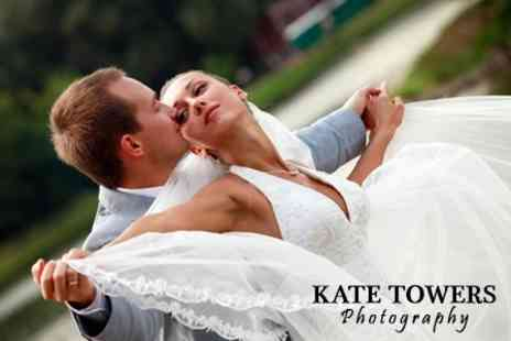 Kate Towers Photography - Wedding Photography Package With Prints and Image Disc - Save 60%