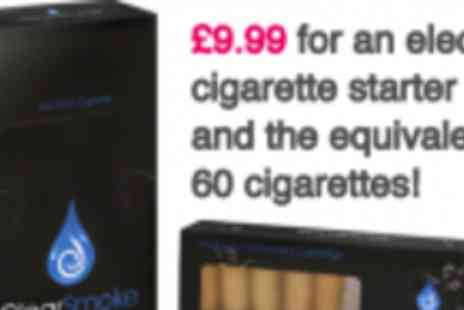 Clear Smoke - Clear Smoke Electronic Cigarettes - Save 67%
