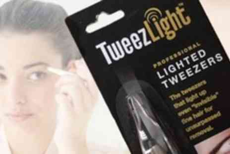 Chemist 4 U - Two Sets of TweezLight Lighted Tweezers - Save 70%