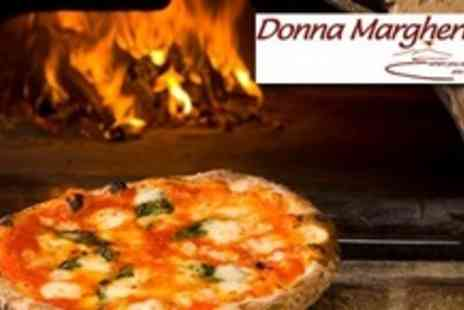 Donna Margherita - Pizza or Pasta For Two With Bottle of Wine - Save 60%