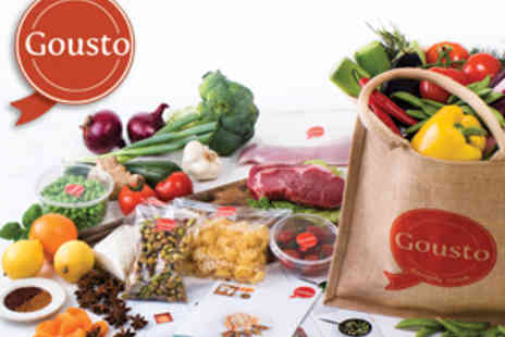 Gousto - Fresh & organic ingredients delivered to your door - Save 51%