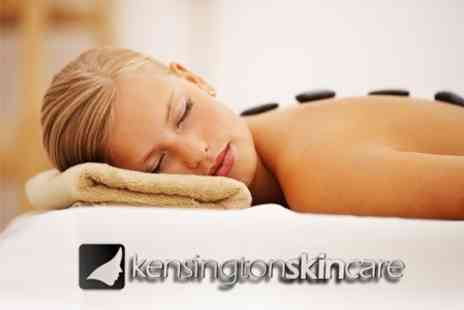 Kensington Skincare - Deep Tissue, Hot Stone or Aromatherapy Massage With Facial - Save 67%