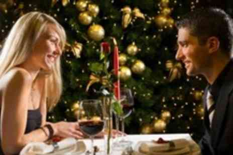 Hilton Treetops Hotel - Hollywood Christmas Party Night For Two With Three Course Meal and Bubbly - Save 57%