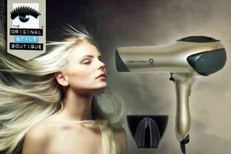 Original Style Boutique - Centrix Q Zone Professional Hair Dryer by Cricket With Free Delivery  - Save 72%
