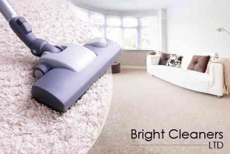 Bright Cleaners - Carpet Cleaning For Two Rooms - Save 36%