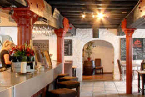 El Puerto - 16 Dish Tapas Meal and Wine for Two People - Save 72%