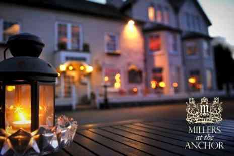 Millers at the Anchor - In Exmoor Coast Two Night Stay For Two With Cream Tea, Breakfast - Save 50%