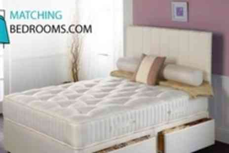 MatchingBedrooms.com - One Single, Double, King, or Super King Pocket 1000 Spring Mattresses - Save 79%