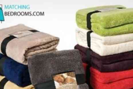 MatchingBedrooms.com - Snuggle Touch Microfibre Throws in Regular - Save 50%