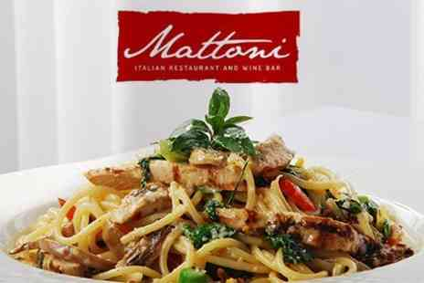 Mattoni - Three Course Italian Meal For Two - Save 61%