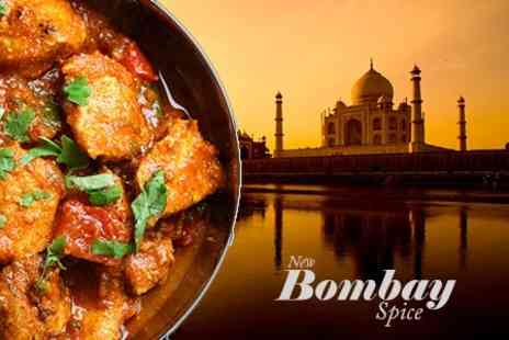 Bombay Spice - Two Course Indian Meal For Two - Save 62%