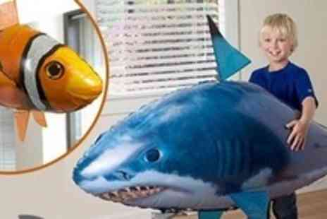 Boobar Bashalot Trading - Giant Radio Controlled Flying Fish or Shark - Save 60%