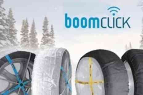 Boomclick - Set of Four Atli KB Heavy Duty Tyre Snow Socks - Save 50%