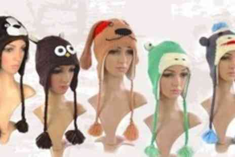 FuFu Fashion - Animal Beanie Hat for £11.99 from FuFu Fashion (£23.99 Value) - Save 50%