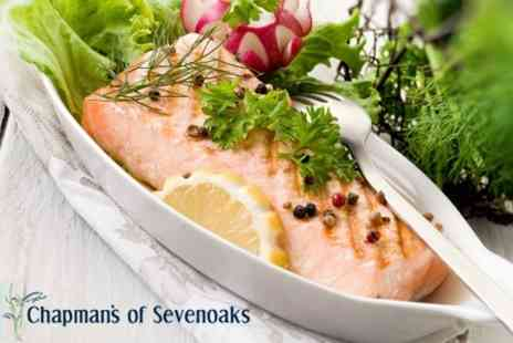 Chapman's Seafood Bar & Brasserie - Fresh Fish With Fries and Salad For Two  - Save 57%