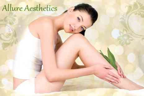 Allure Aesthetics - Eight IPL Hair Removal Sessions on Full Arms or Legs, Plus Underarms and Bikini - Save 34%