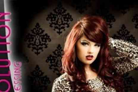 Evolution Hairdressing - Half Head of High or Low Lights or Full Head of Colour - Save 60%