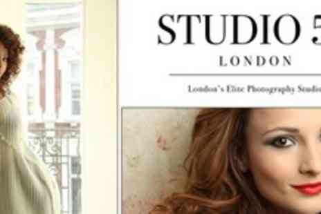 Studio 52 - Half Day Photo Shoot With Mini Facial Makeover and Drinks - Save 94%