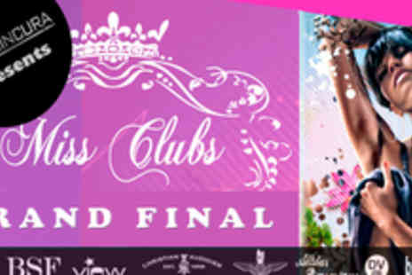 Cafe De Paris - Christian Audigier VIP Pass to Miss Clubs Grand Finals @ Cafe De Paris - Save 62%