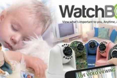 My Gadgets and Gifts - Two WatchBot On The Go Home Monitoring Cameras - Save 77%