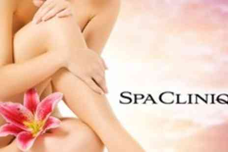 SPA Clinique - Eight Sessions of Laser Hair Removal on Full Legs or Full Arms - Save 80%
