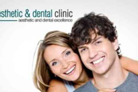 The Aesthetic Clinic - Clear Braces For Top or Bottom Arch - Save 63%