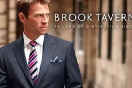 Brook Taverner - Choice of Three Tailored Mens Suits - Save 63%