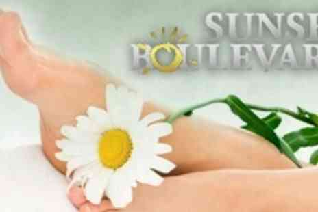 Sunset Boulevard - Foot Pamper Package Including Luxury Pedicure - Save 70%
