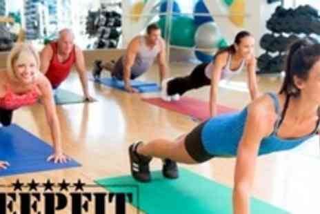 Keepfit Bootcamp - Ten 60 Minute Indoor Boot Camp Classes - Save 76%