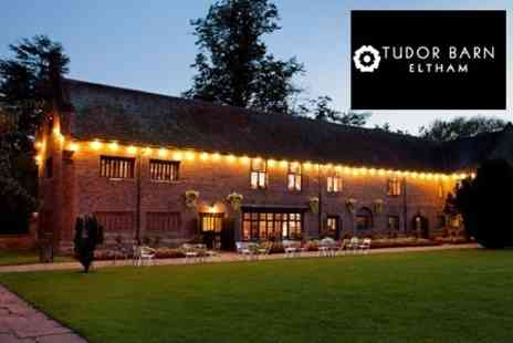 Tudor Barn Eltham - Two Course Meal For Two With Wine - Save 51%