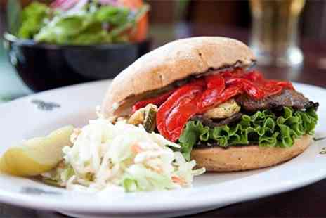 The Black Horse - Burgers Griddled Chicken Breast or Homemade Beef Burger For Two - Save 50%