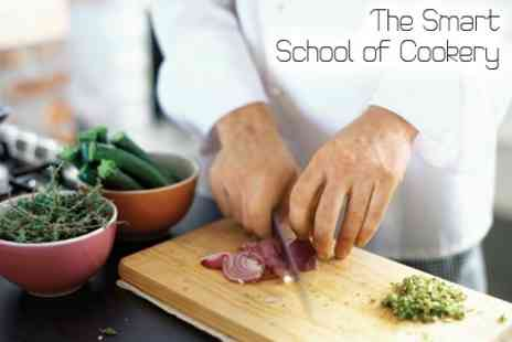The Smart School of Cookery - One Hour Food Demo With Choice of Cuisine Plus Tasting - Save 62%