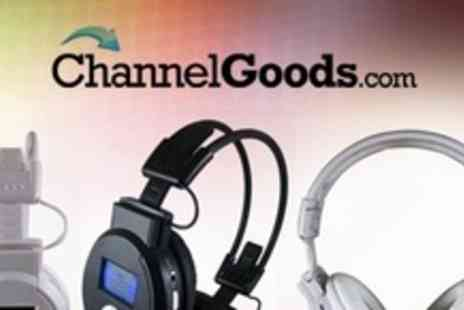 ChannelGoods.com - Folding Wireless FM Radio and MP3 SD Card Headphones - Save 70%