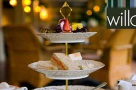 Willow Restaurant - Champagne Afternoon Tea For Two - Save 56%