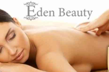 Eden Beauty - Luxury One Hour Full Body Heated Bamboo Massage - Save 65%